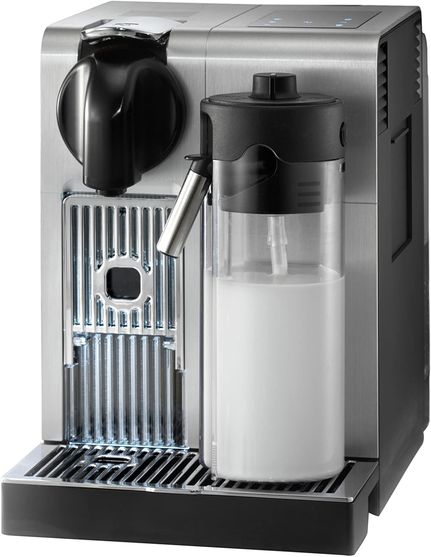 De Longhi America, Inc. EN750MB Lattissima Pro Original Espresso Machine with Milk Frother by De Longhi, 10.8 L x 7.6 W x 13 H, Brushed Aluminum