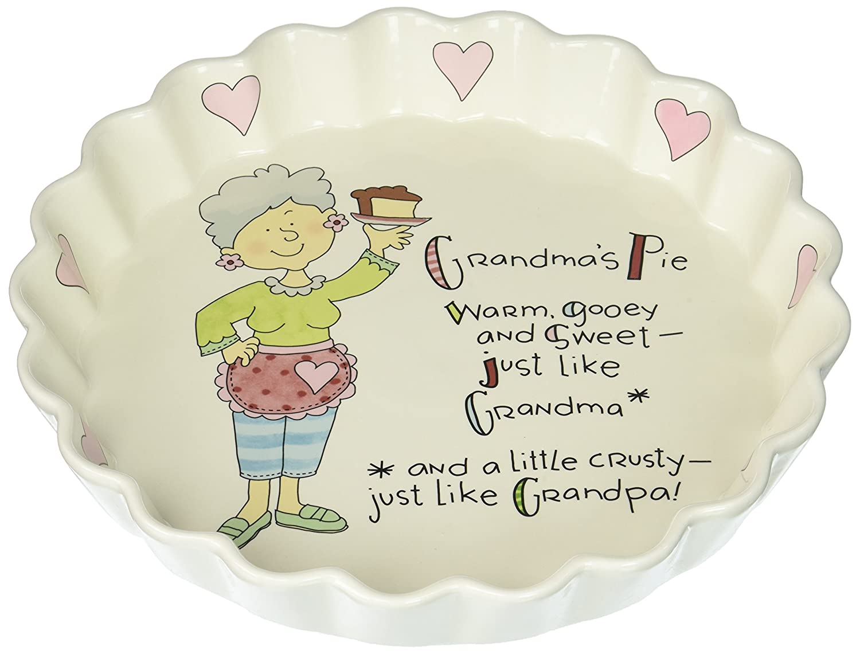 Well Seasoned by Pavilion Grandma's Pie Plate, 9-Inch 33131