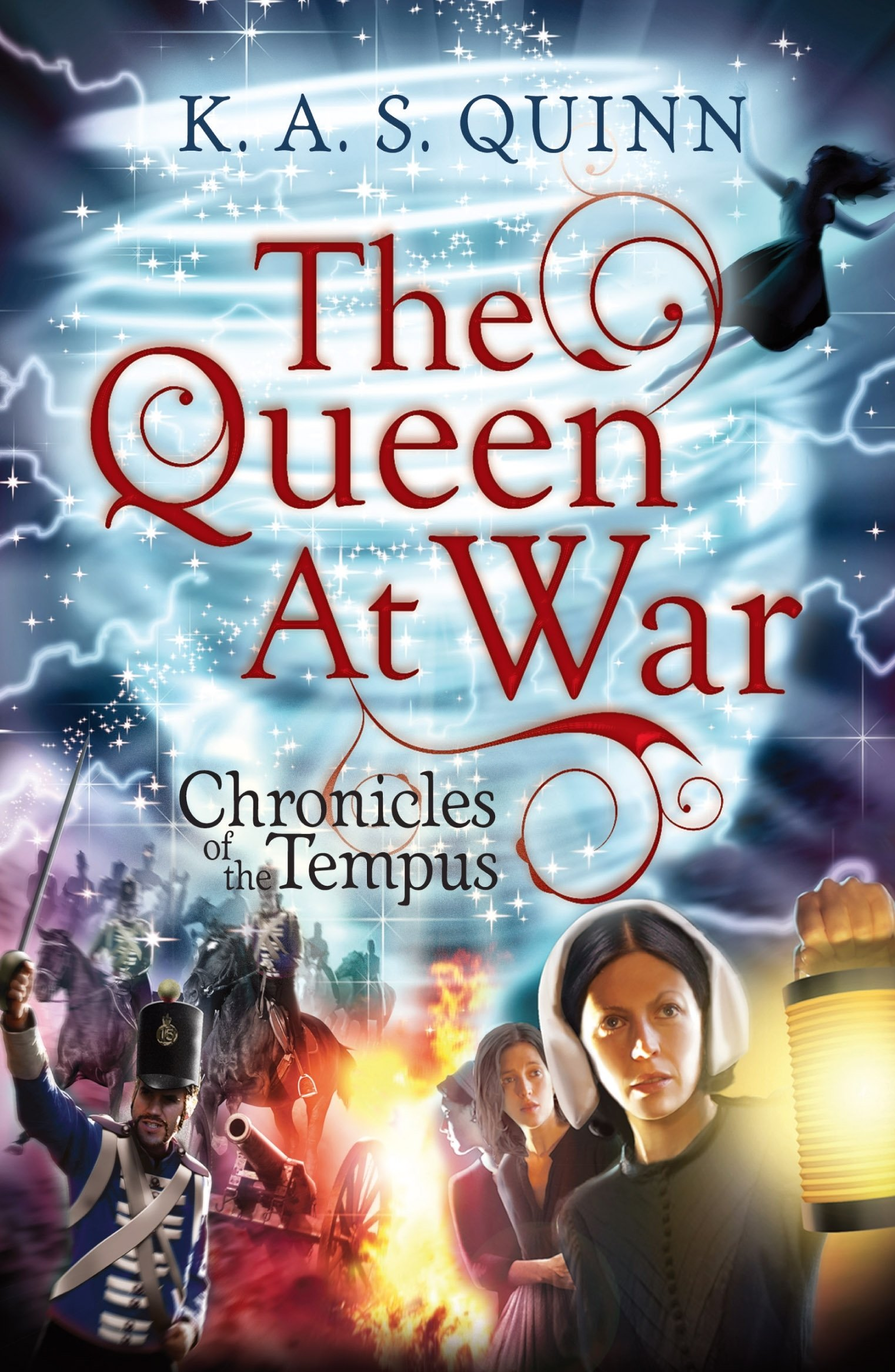 The Queen at War (CHRONICLES OF THE TEMPUS Book 2) (English Edition)
