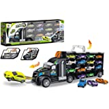 Toys Bhoomi 2 in 1 Huge Transport Car Long Haul Carrier Truck Case - Stores Upto 28 Cars