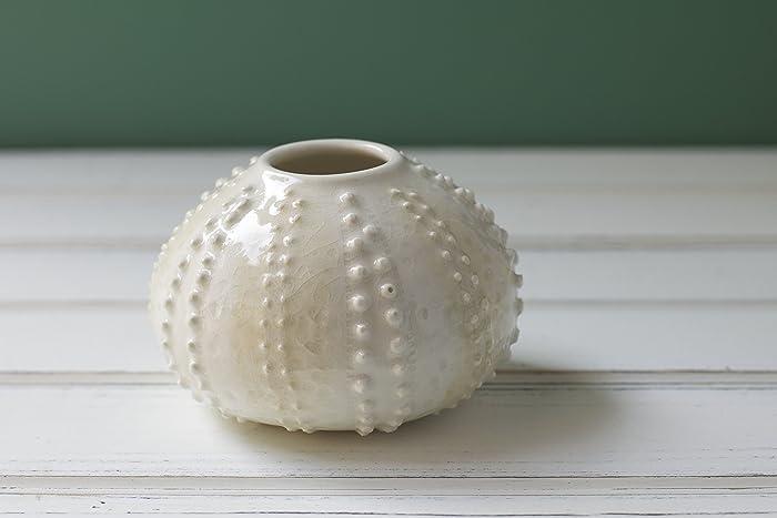 Amazon Handmade Sea Urchin Bud Vase White Handmade