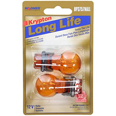 Wagner Lighting BP3757NALL Long Life Natural Amber Miniature Bulb - Card of 2: Automotive