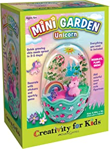 Creativity for Kids Mini Magical Unicorn Garden - Unicorn Gardening Crafts for Kids