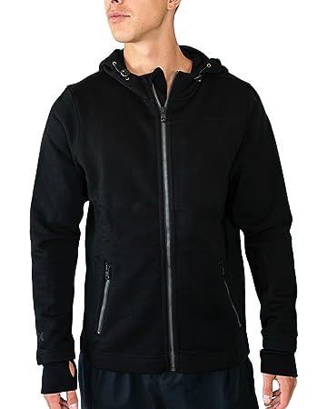 Amazon.com: WoolX Grizzly - Men's Full Zip Hoodie Sweatshirt ...
