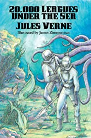20,000 Leagues Under the Sea (Illustrated Edition): With linked Table of Contents (English Edition)