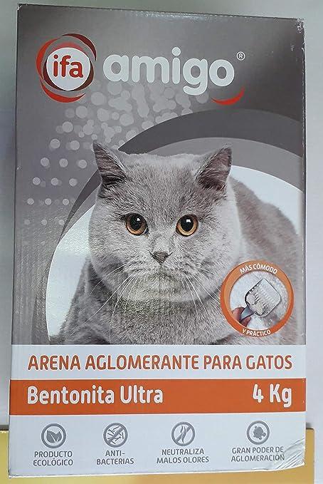 IFA Arena Gatos AGLOMERANTE 4kg: Amazon.es: Productos para ...