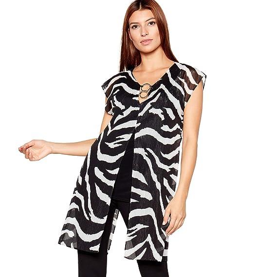 fashion new collection wholesale sales Debenhams Star by Julien Macdonald Womens Black Zebra Print ...