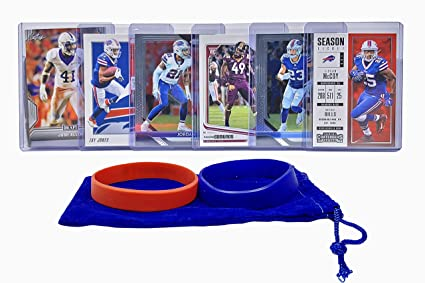 best service 5598a 3e9f8 Amazon.com: Buffalo Bills Cards: Josh Allen, Zay Jones ...