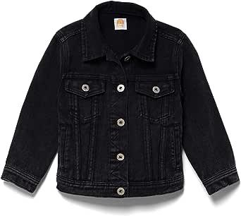 Lila Mae Toddler Colored Denim Jacket - Classic Kids Denim Jean Jacket