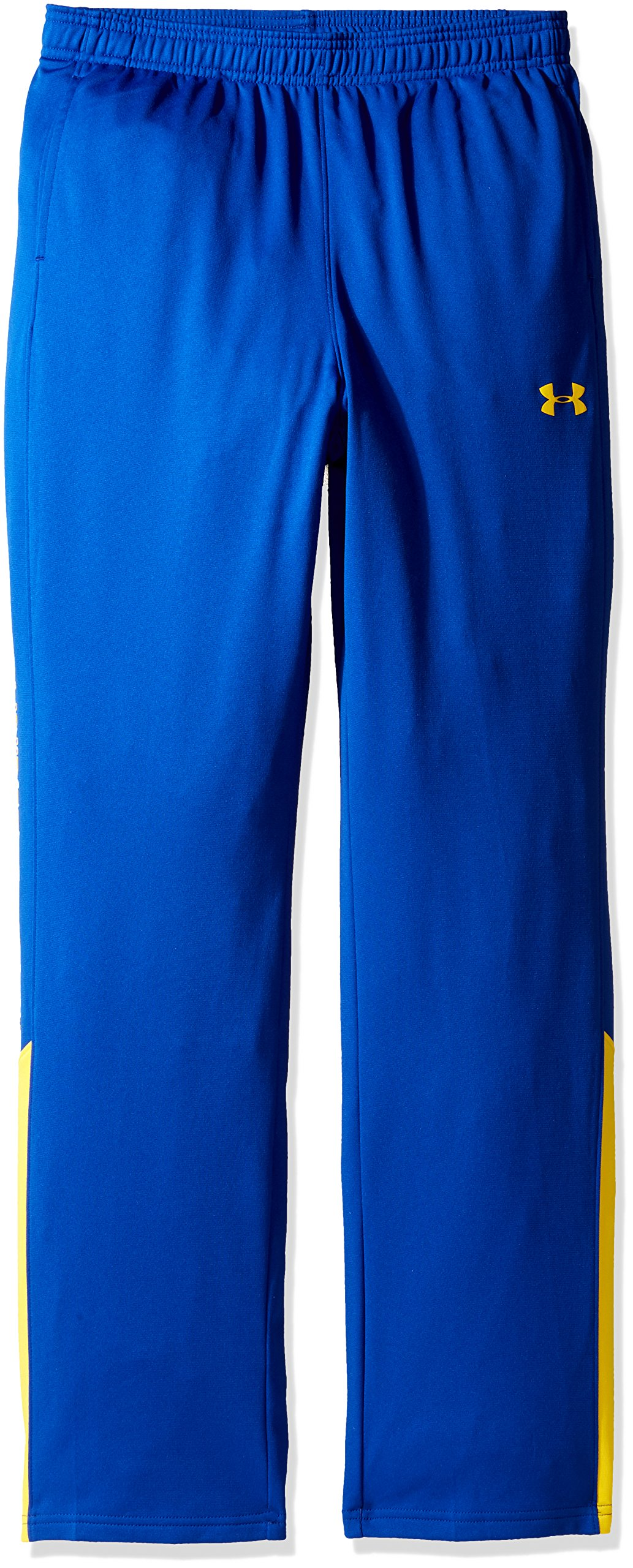 Under Armour Boys Brawler Pants,Royal (401)/Taxi, Youth X-Large by Under Armour