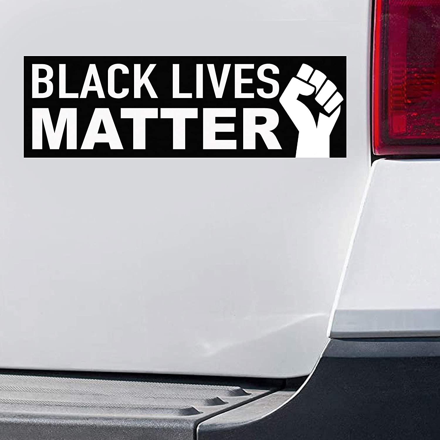 with Bonus 2 Stickers 6x 4 4x 4 Black Lives Matter Bumper Sticker 10 x 3 Vinyl Decal Protest for Laptop car Wall Bottle Window Luggage Travel Stickers Scrapbooking Skateboard