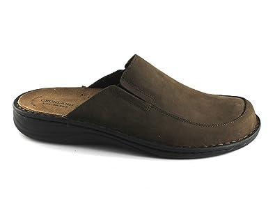 Grünland inch PO1331 Chaussures Noir Poli Homme Décontracté Milieu Lacets Anti-Choc 45 h0ozmRp