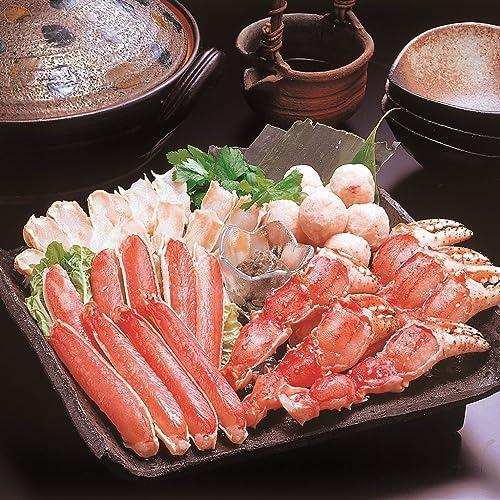 カニ鍋海鮮鍋しゃぶしゃぶギフトセット(かに鍋セット)