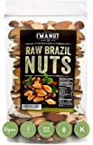 Raw Brazil Nuts 32oz (2 Pounds) Superior to Organic, No PPO, Probiotic, Large,Fresh and Reasealable bag