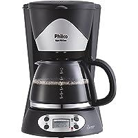 Cafeteira Digital PH14 Inox, 127V, Philco 53901017, Preto, Philco, 53901017, Preto