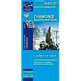 Carte de randonnée : Chamonix - Massif du Mont-Blanc
