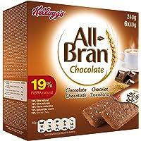 Kellogg's All-Bran Chocolate Barritas - Paquetes de 6