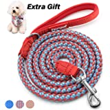 Fairwin Reflective Dog Leash, 6 Foot Reflective Heavy Duty Braided Dog Leash for Large Medium Small Dogs Training