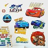Disney 'Cars' 3d pegatina pared adhesivo arte pared pared décalques nurserie infantil jardín de niños bebé Niños Chicos decoración de cámara