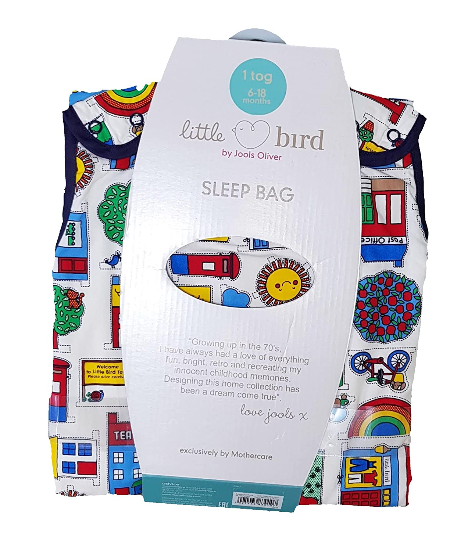 Snoozie - Saco de dormir para bebés de 6 a 18 meses de duración de Jools Oliver, exclusivo de Mothercare 70s, inspirado en Retro, para dormir, ...