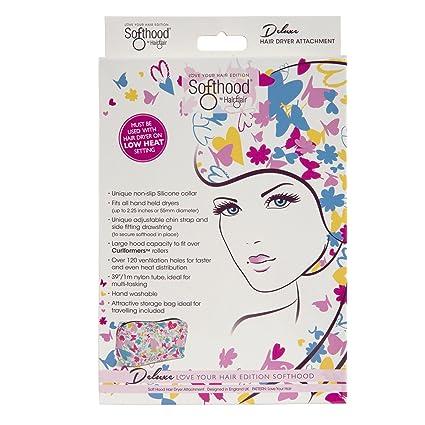 Secador de pelo de lujo patentado con mariposa de amor para el cabello.