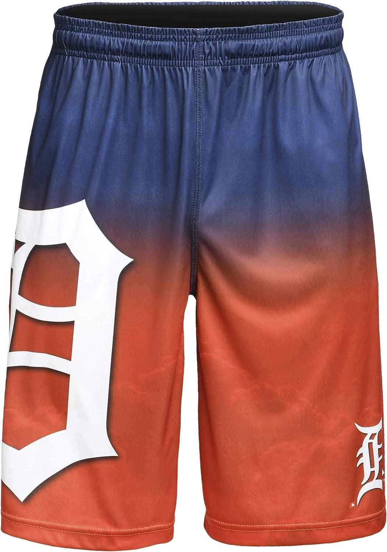 FOCO MLB Mens Gradient Big Logo Training Short