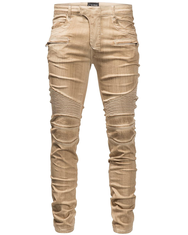 Herren jeans in beige