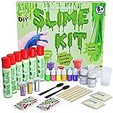 DIY Slime Kit - Ultimate 31 Piece Slime kit for Girls & Boys - Make 12 Custom batches of Clear, Colored, Unicorn, Glitter, Bead, Glow Slime & More - #1 Fun & Educational DIY Slime Making Kit!