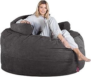 4c64ee81539e Lounge Pug® - Bristol Flock - CLOUDSAC - Huge Memory Foam GIANT Bean Bag  SOFA