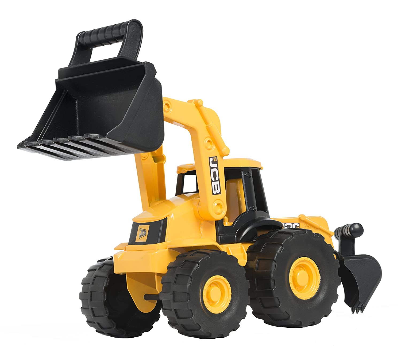 jcb giant backhoe loader toy amazon co uk toys u0026 games