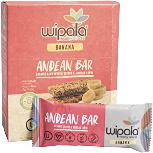 Win A Free Wipala Healthy Snacks   Organic Quinoa and Andean Lupin...
