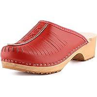 Ladeheid Zuecos de Madera Crocs Sandalias Chanclas Zapatos Verano Mujer LAFA034