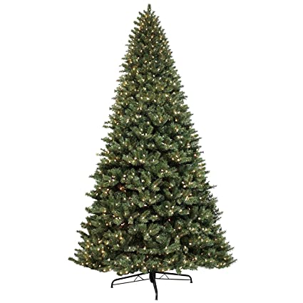 Commercial Christmas Decorations Uk.Giant 12ft Green Artificial Pine Tree 1500 Lights Commercial
