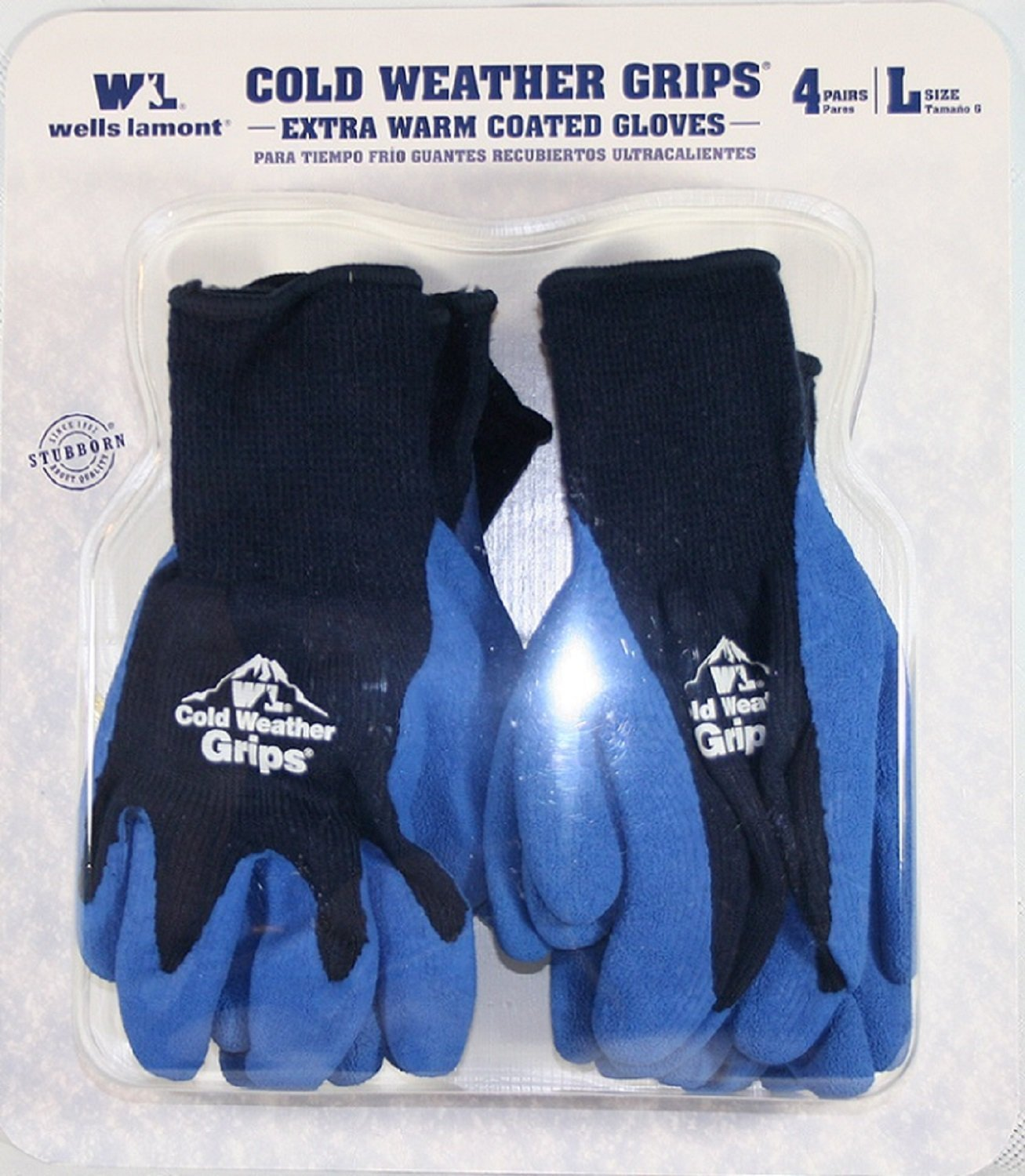 Amazon.com : Wells Lamont Cold Weather Grips - Extra Warm ...