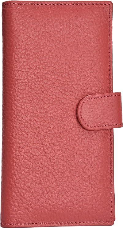 elite DECORIO Leatherette Cheque Book Holder Card Holder Cheque Holder Cheque Book Case Navy Blue