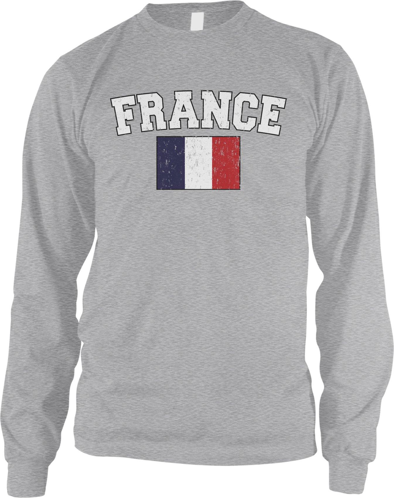 French Flag Love Home Flag Of France Shirt 7548