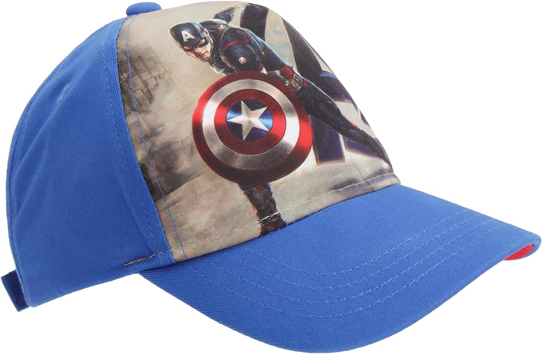 Gorras infantiles de Capitán América (Marvel Comics) azul azul ...