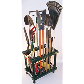 Garden Tool Rack Cart General Purpose Storage Racks