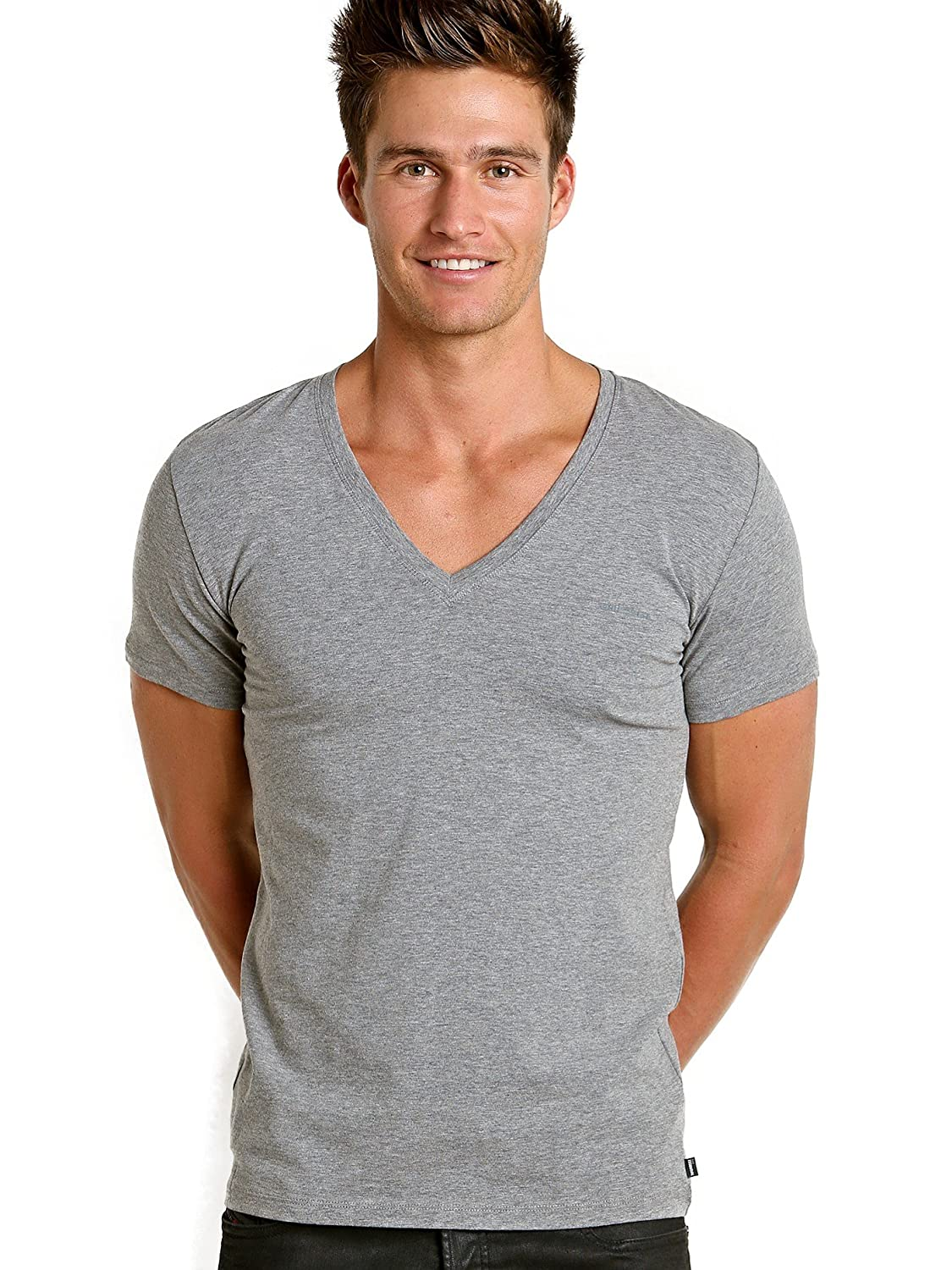 Diesel Men's Jesse Cotton Stretch T-Shirt 00CGB30BAHF