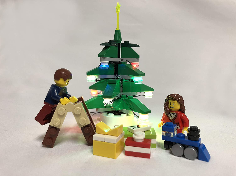12 LED RGB Lego Studs Brick Loot Light Up String Lego Light KIT