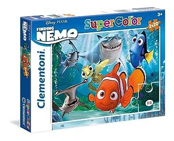 Disney Puzzles, 2 x 20 piezas, diseño Buscando a Nemo (Clementoni 247370)