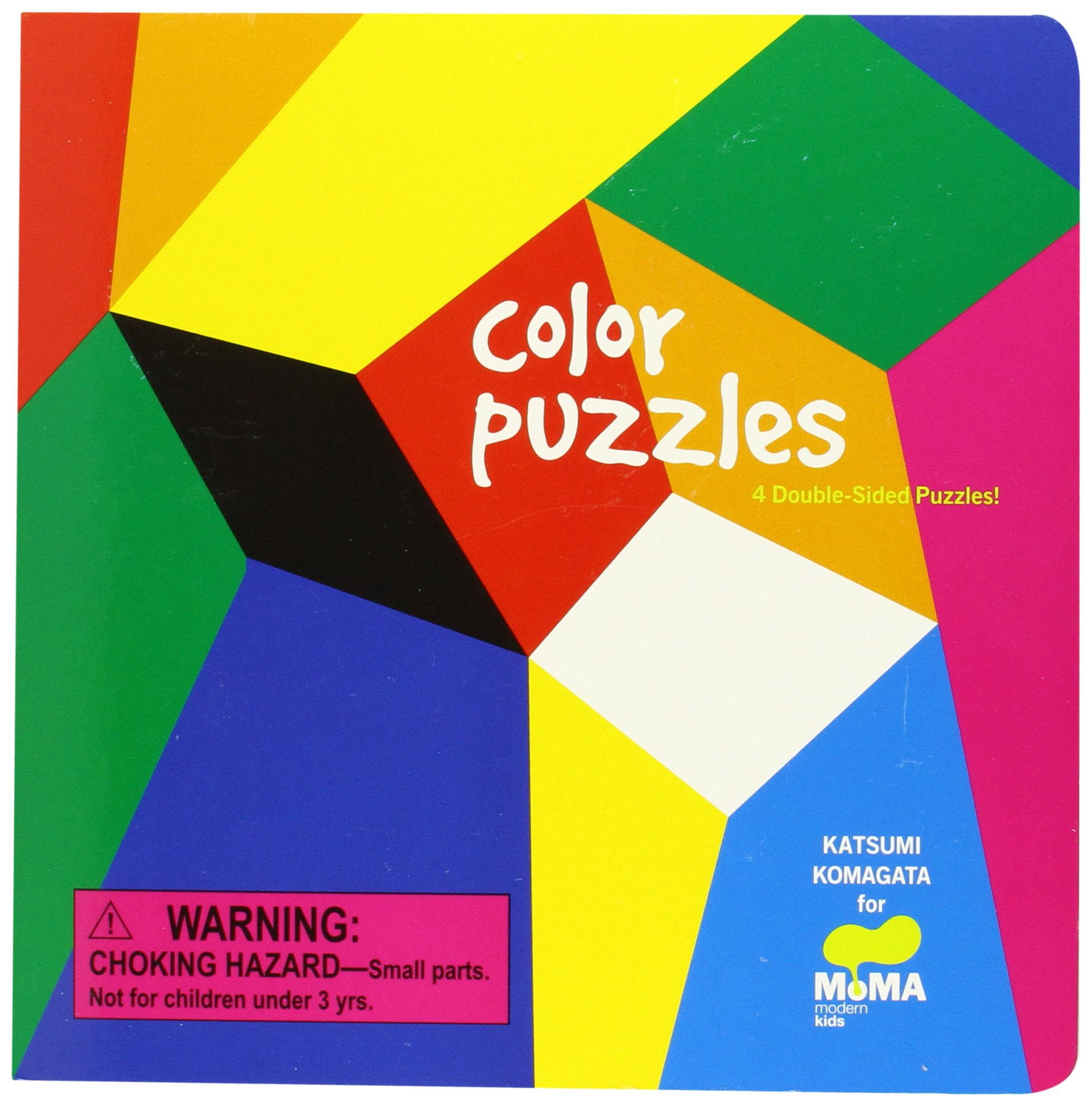 The color-play coloring book moma - Amazon Com Moma Color Puzzles 4 Double Sided Puzzles 9780811876896 Katsumi Komagata The Museum Of Modern Art Books