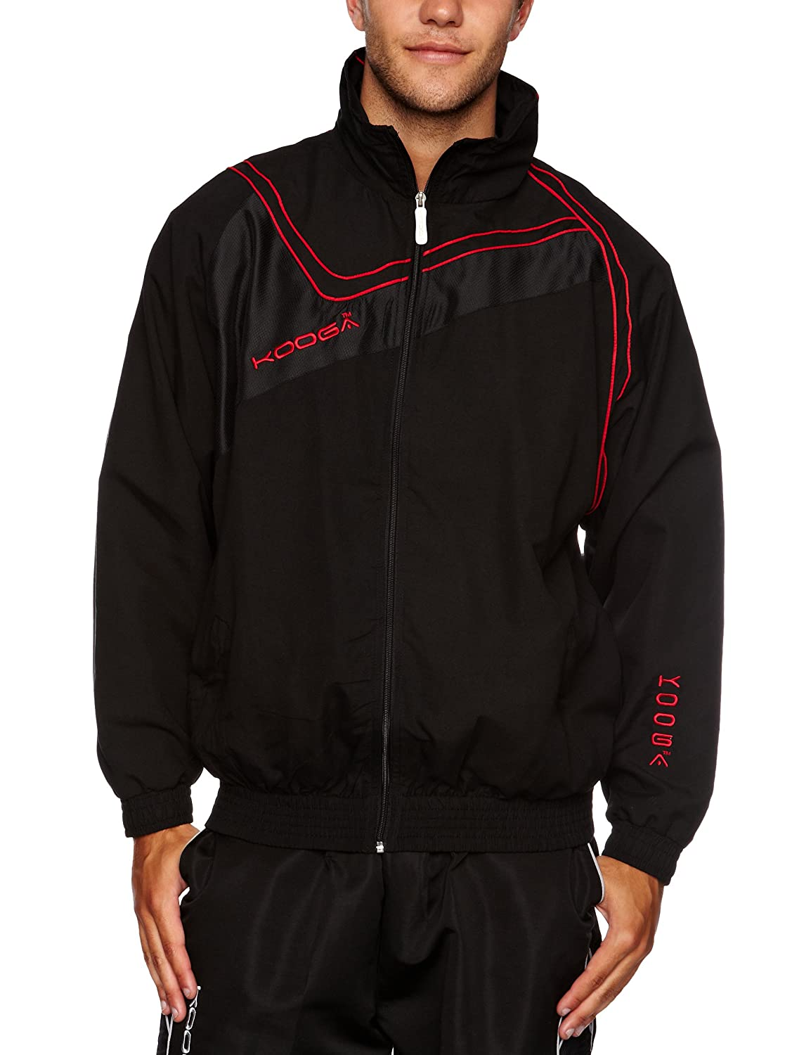 Kooga Rugby Herren Track Jacke und Mantel Set unknown