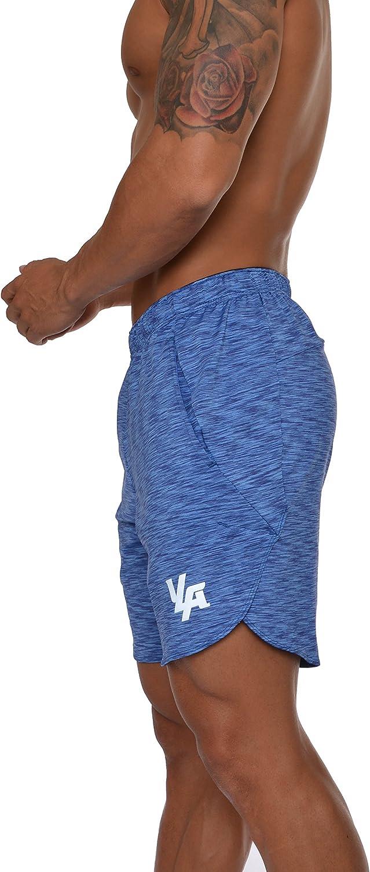 YoungLA Men's Running Shorts Athletic Gym Workout Powerlifting 104: Clothing