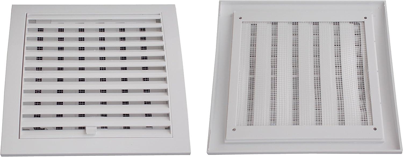 Anzapack 814331S/Grille en plastique verrouillable Blanc 20/x 20/cm