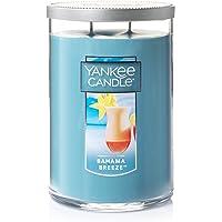 YANKEE CANDLE 1205305Z Bahama Breeze Large 2-Wick Tumbler Candle Blue