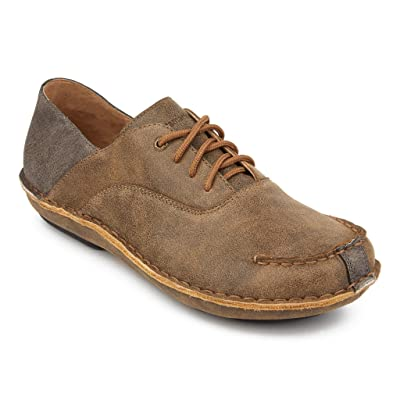 Tamarindo Stargazer Women's Leather Shoes Casual Lightweight Oxford | Oxfords