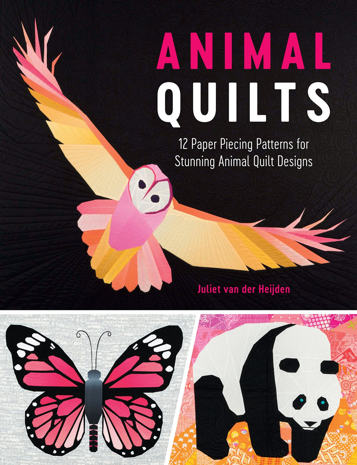 photograph about Free Printable Paper Piecing Patterns for Quilting titled Animal Quilts: 12 Paper Piecing Styles for Breathtaking Animal