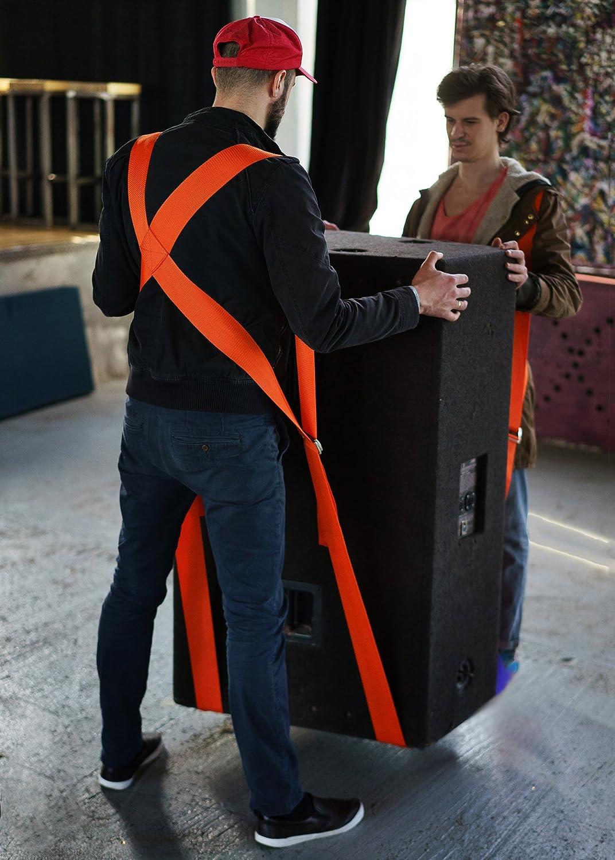 Nordstrand 2 Personen Tragegurt Transportgurt Schulter Hebegurt f/ür Umzug M/öbel und schwere Gegenst/ände bis zu 500 kg
