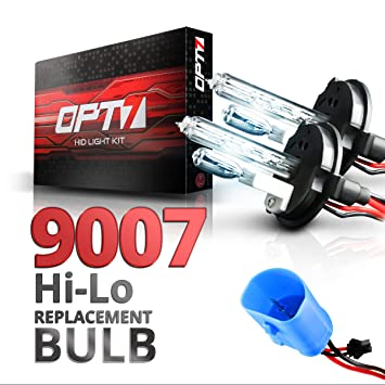 81G7FXqCkBL._SY355_ amazon com opt7 blitz 9007 hi lo replacement hid bulbs pair  at gsmx.co
